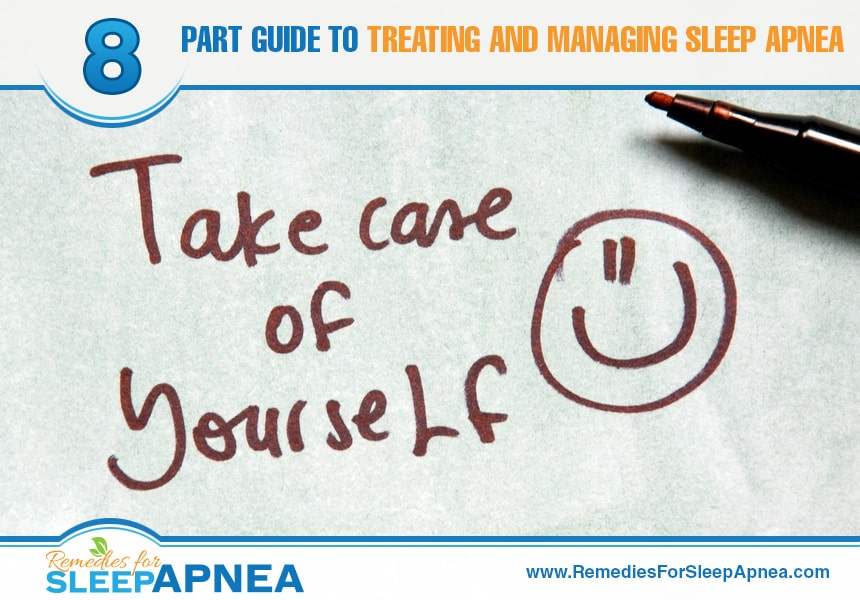 how to manage sleep apnea
